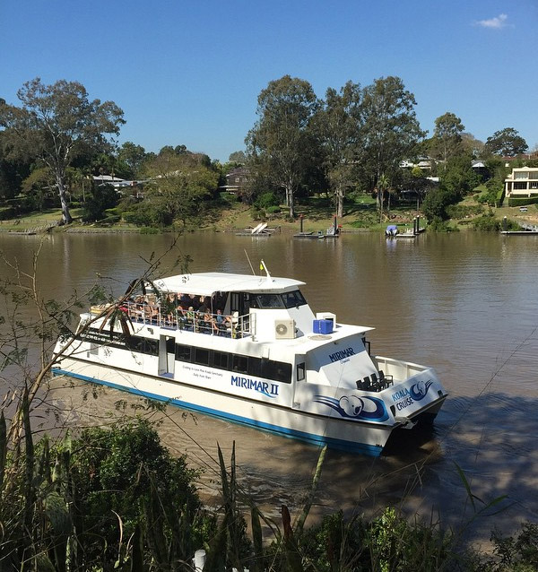 Learn about the history of Brisbane River which on Mirimar Cruises