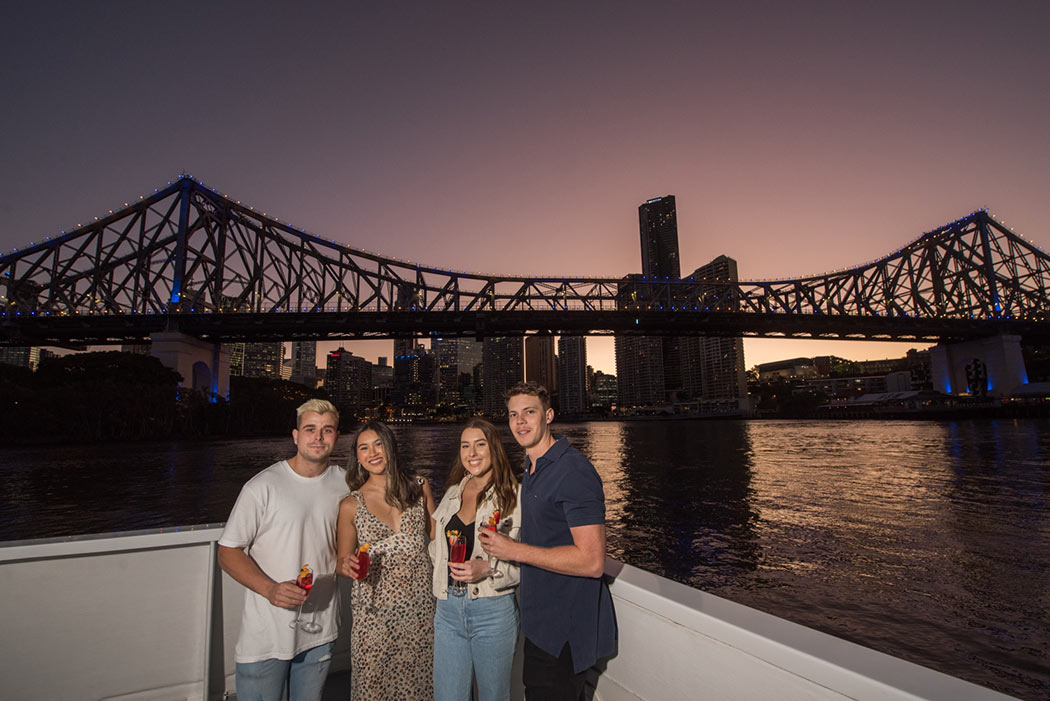 Sunset Brisbane twilight cruise with Mirimar Cruises