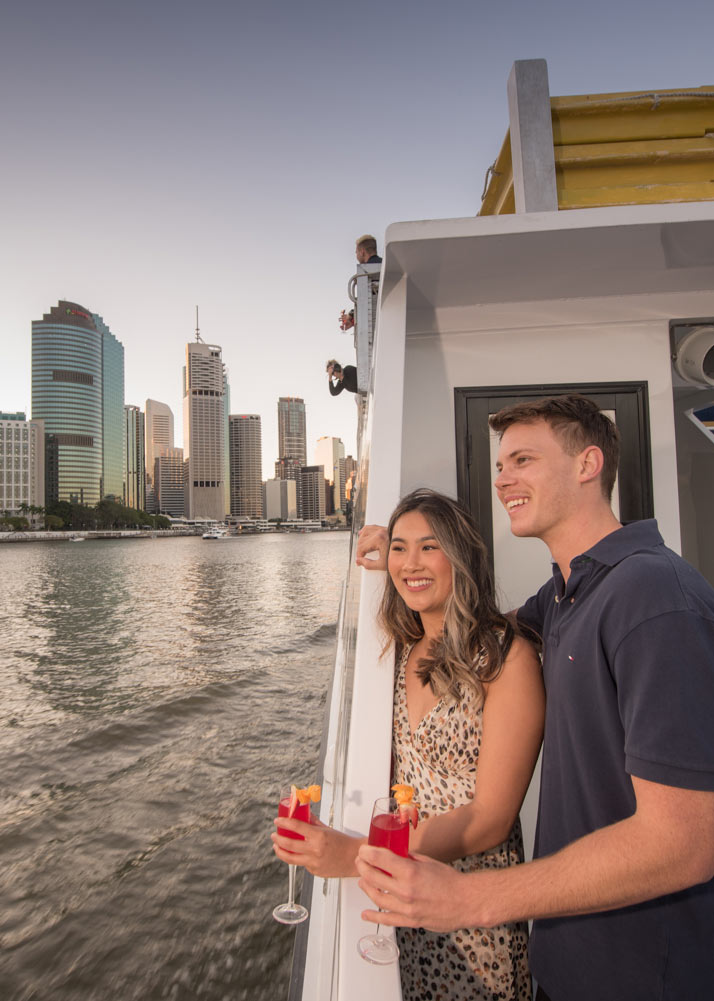 Brisbane Twilight Cruise with Mirimar Cruises